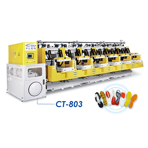 Auto Rubber Outsole Molding Press - CT-803