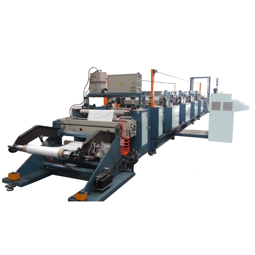 High Speed Single Side 4 Color Roll To Roll Printing Machine (Available For PP Woven/Laminated Fabric Printing)