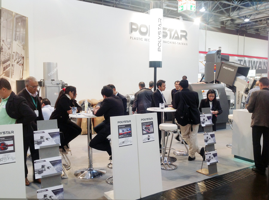 "Polystar hails ""Simple and Flexible"" Repro-Flex recycling system at K 2016"