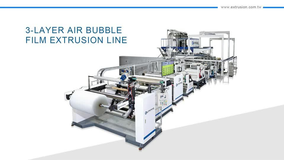 "48"" Wide 3-Layer Air Bubble Machine"