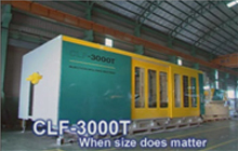 Extra Large and Extra Strong Injection Molding Machine
